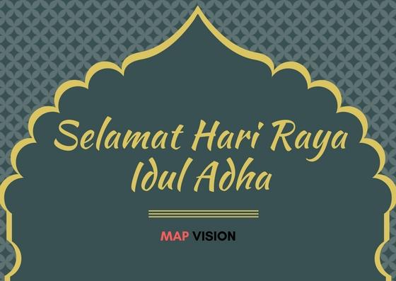 Selamat Hari Raya Idul Adha 1438 H Map Vision